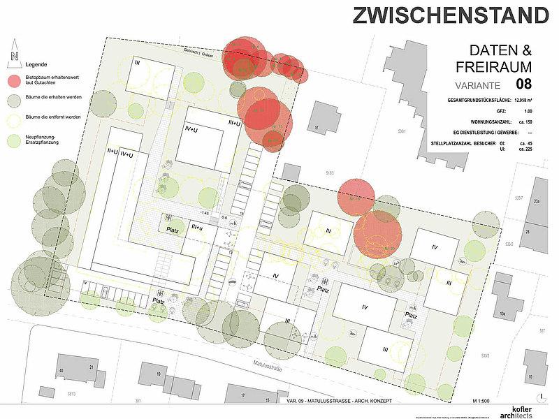 Bauprojekt Matulusgarten in Freilassing